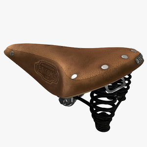 3D bicycle saddle