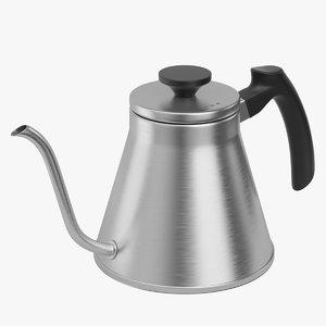 hario kettle drip 3D
