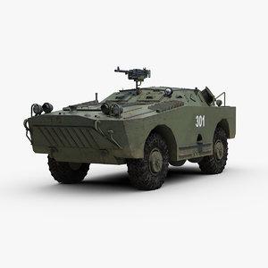 3D russian brdm 1 model