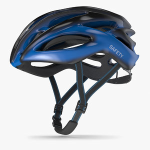bicycle helmet 2 3D model