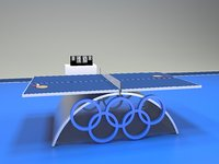 Table tennis ping pong arena