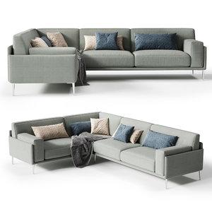 confort line life sofa 3D model