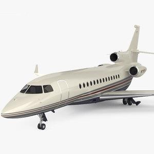 dassault falcon 7x 3D model