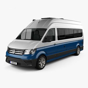 volkswagen crafter grand 3D model