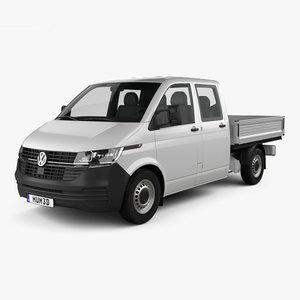 volkswagen transporter double 3D
