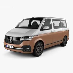 volkswagen transporter multivan 3D model