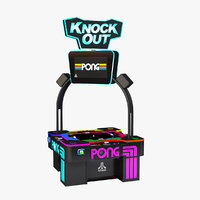 Pong Knock Out Arcade Machine