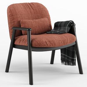 3D baltimora armchair - calligaris