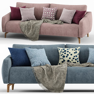 3D finland sofa - calligaris model