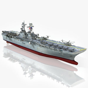 uss tripoli lha-7 model