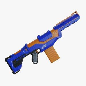 3D model nerf blaster