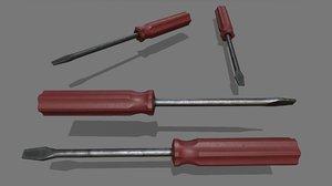 3D screwdriver 3 model