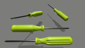 screwdriver 4 3D model