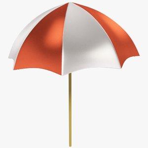 stylized umbrella 3D