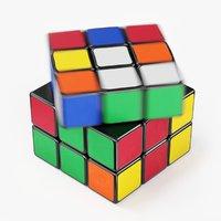 Rubik Cube Speed Solve Animation