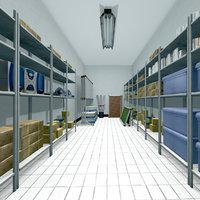 School  Storage Room