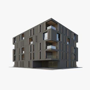 house apartment 3D model