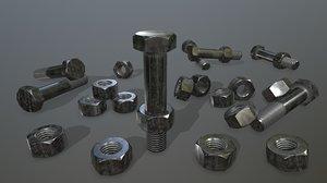 3D bolts