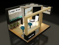Booth Exhibition Stand(2)(1)