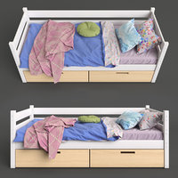 Single Bed for Childrens 03