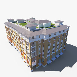 palm beach building games 3D model