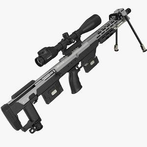 sniper rifle dsr-1 3D model