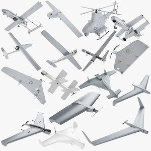 kalashnikov uav drone 3D model