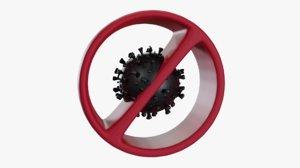 virus science 3D model