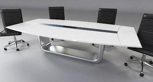 3D interior desk