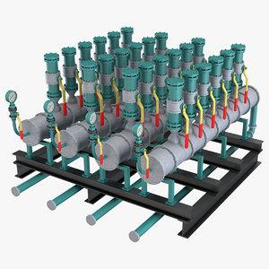 industrial element 6 3D model
