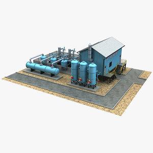 industrial 2 3D model