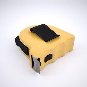3D tape measure model