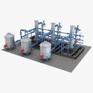 industrial equipment 3 3D model