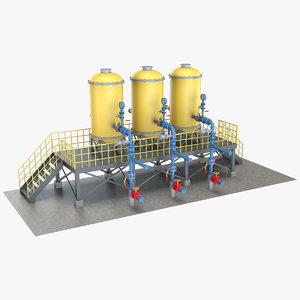 3D industrial equipment 4