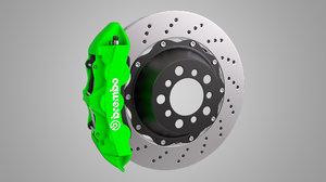 3D brembo brake