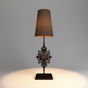 table lamp lights 3D