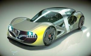 car alfa romeo 3D model