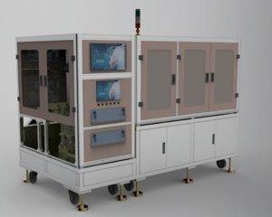 pad printing machine 3D model