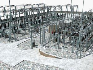 electrical substation sub model