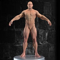 Muscular Man High Detailed(1)