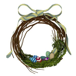 3D eggs wreath