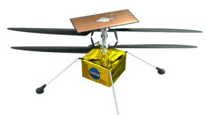 3D mars helicopter model