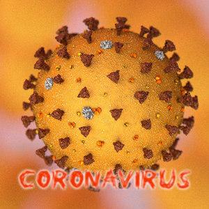3D sars coronavirus 2 virus