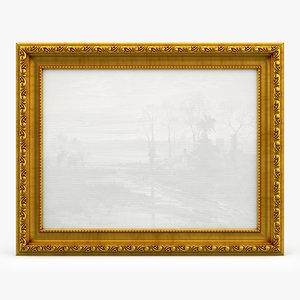 3D model frame picture v03