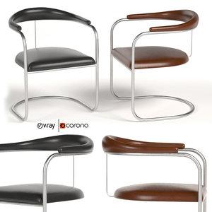 3D ss33 armchair anton lorenz