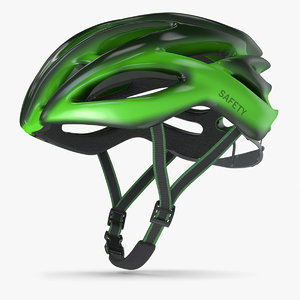 3D bicycle helmet 4 model