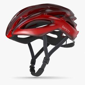 3D bicycle helmet 3 model
