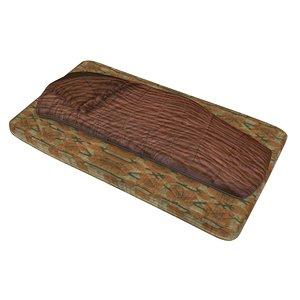 3D model mattress old