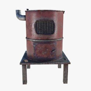 hand furnace 3D model