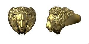 lion king jewel 3D model
